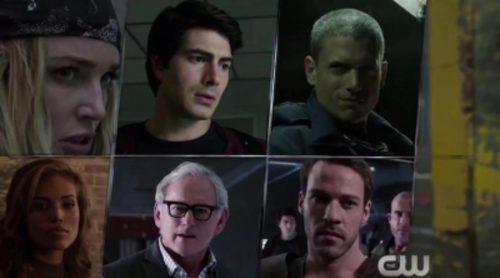 The CW muestra a los ocho superhéroes de 'Legends of Tomorrow' en su nuevo avance