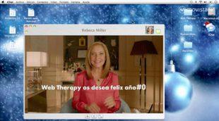 """Eva Hache y los """"pacientes"""" de 'Web Therapy' nos desean un Feliz Año #0"""