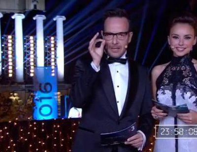 Así fueron las Campanadas de Àngel Llàcer y Chenoa en TV3