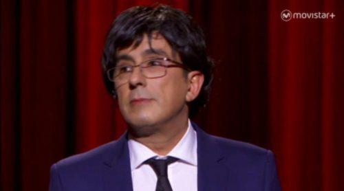 """Monólogo de Buenafuente: """"No es que me parezca al nuevo President, yo soy Puigdemont"""""""