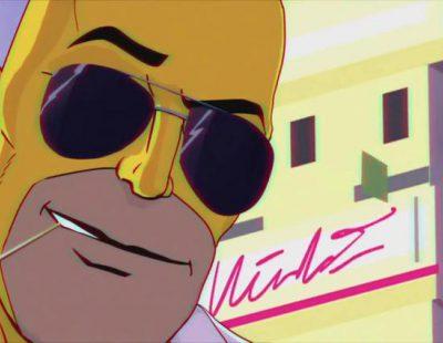'Los Simpson' sorprenden con una intro al más puro estilo 'Miami Vice'