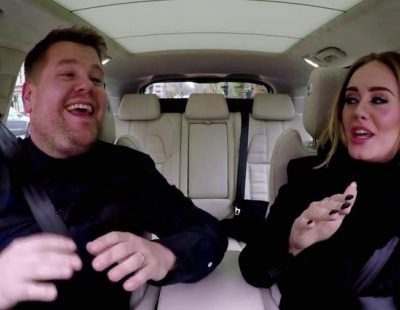"""Adele se atreve con """"Wannabe"""" en un gran """"Carpool Karaoke"""" en 'The Late Late Show with James Corden'"""