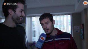 ¿Qué piensa Hugo Becker de la forma en la que los actores españoles imitan a los franceses? ¿Le molesta?