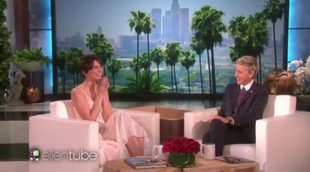 Lauren Cohan ('The Walking Dead') recibe un gran susto en el programa de Ellen DeGeneres
