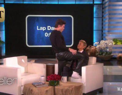 Zac Efron lo da todo en 'Ellen': twerking, lap dance,...