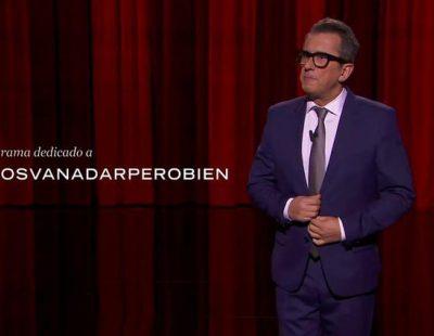 Andreu Buenafuente dedica un ácido monólogo a la polémica exclusiva de 'Antena 3 noticias'