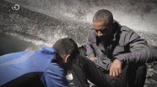 Bear Grylls pone en apuros a Obama en el regreso de 'Famosos en peligro'