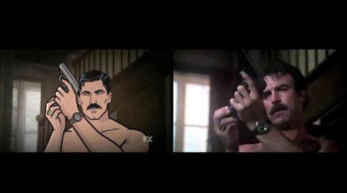 'Archer' homenajea a 'Magnum' en el nuevo teaser de su 7ª temporada
