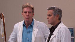 George Clooney y Hugh Laurie protagonizan el crossover de 'Urgencias' y 'House'