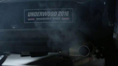 Nuevo avance de 'House of Cards' con el coche de Francis Underwood