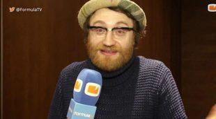 """Manuel Burque: """"Mi personaje es un loser, recuerda mucho a los protagonistas de 'Big Bang Theory"""""""