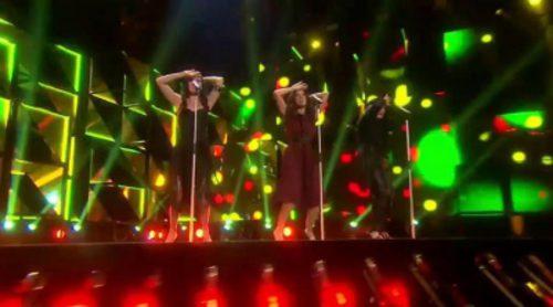 Las Ketchup interpretan 'Aserejé (The Ketchup Song)' en el Melodifestivalen 2016