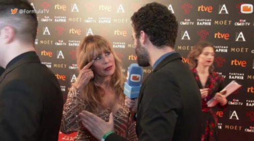 """Miriam Díaz-Aroca: """"He presentado una serie a las cadenas de televisión. Un thriller"""""""