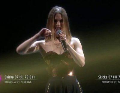 Ace Wilder interpretó 'Don't Worry' en la primera gala del Melodifestivalen 2016