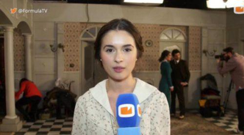 Así es la voz de Giulia Charm, la actriz que interpreta a la muda Beatriz Mella en 'El Secreto de Puente Viejo'