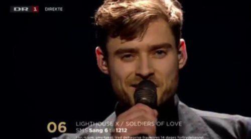 """Lighthouse X representará a Dinamarca en Eurovisión 2016 con """"Soldiers of Love"""""""