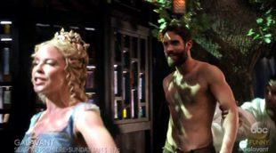 El cameo de Kylie Minogue en 'Galavant' en el que se enamoró de su protagonista