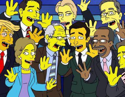 'Los Simpson' parodian a Trump, Clinton y al resto de candidatos a la Presidencia de EE.UU.