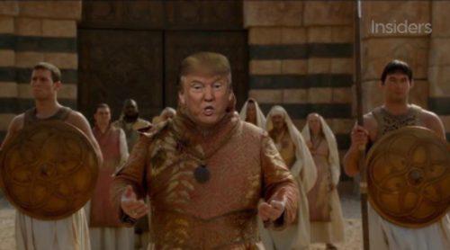 """Donald Trump protagoniza el """"remake"""" de 'Juego de Tronos'"""