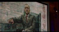 Nuevo clip de la cuarta temporada de 'House of Cards': Frank Underwood descubre su retrato presidencial