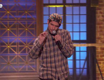 Tyler Posey ('Teen Wolf') se desmelena en 'Lip Sync Battle'