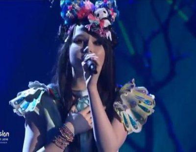 """Jamie-Lee Kriewitz interpreta """"Ghost"""", la canción de Alemania en Eurovisión 2016"""