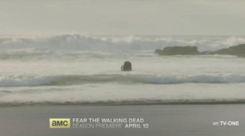 Zombies en el agua en el nuevo teaser de la segunda temporada de 'Fear The Walking Dead'