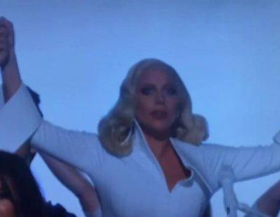 """Lady Gaga emociona en los Oscars 2016 con """"Til It Happens To You"""", actuación denuncia contra los abusos sexuales"""