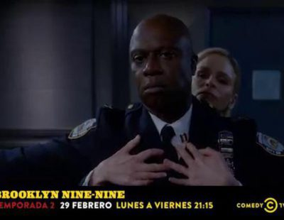 Así promociona Comedy Central el estreno de la nueva temporada de 'Brooklyn Nine-Nine'