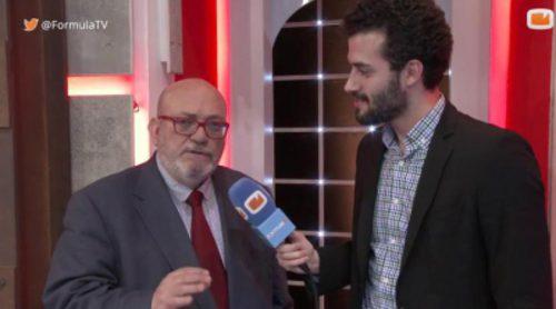 """Francisco Pérez Abellán: """"Ahora tenemos a mucha gente que habla de sucesos en TV, pero faltan especialistas"""""""