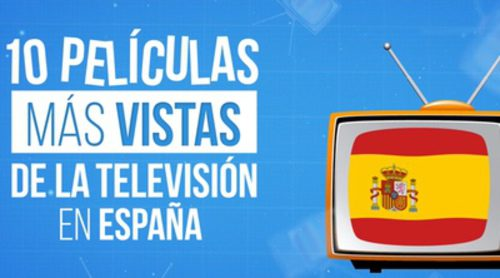 Las 10 películas más vistas de la televisión en España