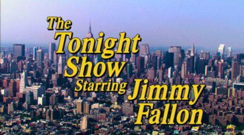La cabecera de 'The Tonight Show' como si fuera una serie de los 90