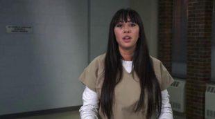 Flaca Gonzales ('Orange is the New Black') imita el discurso de Frank Underwood en 'House of Cards'