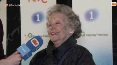 """María Galiana: """"No pienso nunca en el final de 'Cuéntame'"""""""