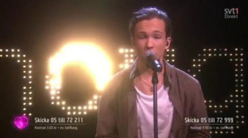 "Frans interpreta ""If I Were Sorry"", la canción de Suecia en Eurovisión 2016"