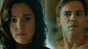 Verónica Sánchez y Marc Clotet comentan la sorpresa final del primer capítulo de 'El caso'
