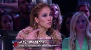 Jennifer Lopez rompe a llorar tras la interpretación de una concursante de 'American Idol'