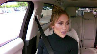 Jennifer López, desatada en el 'Carpool karaoke' junto a James Corder, niega haber asegurado su culo