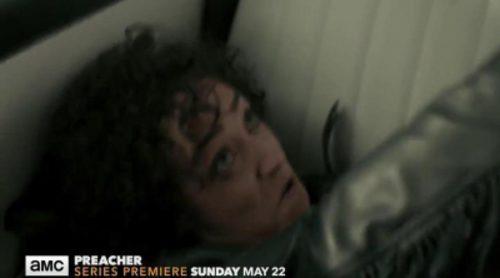 El nuevo avance de 'Preacher' presenta a Tulip O'Hare en un intenso forcejeo en un coche descontrolado