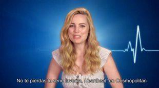 Melissa George y Dave Annable nos invitan a ver 'Heartbeat' en Cosmo