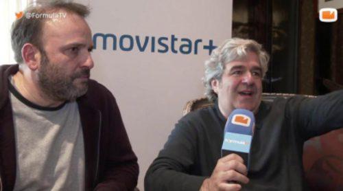 """Juan Cavestany y Álvaro Fernández ('Vergüenza'): """"Movistar+ nos da una libertad que se convierte en autoexigencia"""""""
