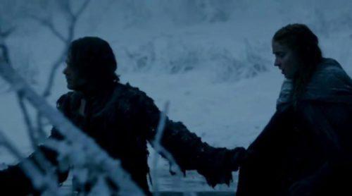 Nueva escena inédita de Sansa y Theon en la sexta temporada de 'Game of Thrones'