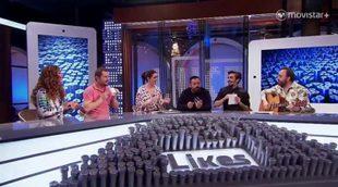 """Pepón Nieto y Canco Rodríguez interpretan """"Cecilia"""" con instrumentos caseros en 'Likes'"""