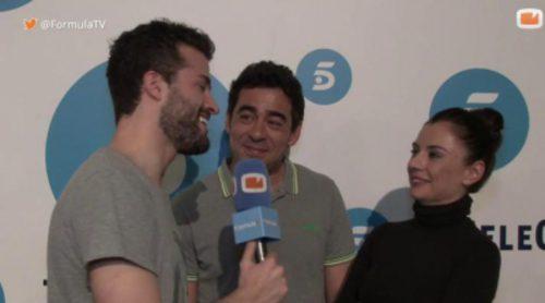 """Entrevista a Miren Ibarguren y Pablo Chiapella como pareja en 'LQSA': """"Que la serie dure 5 años más"""""""