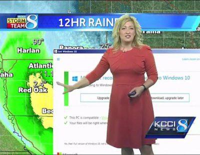 La actualización a Windows 10 interrumpe la información meteorológica en un canal estadounidense
