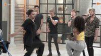 Lo que no viste de la visita de Auryn a 'Top Dance'
