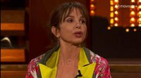 Silvia Abril parodia a Victoria Abril delante de ella misma en 'Late Motiv'