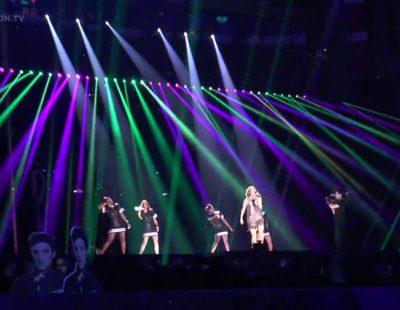 Primer ensayo de Barei en el 'Festival de Eurovisión 2016'