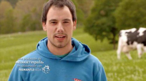'Granjero busca esposa' presenta a Lander, el granjero vasco al que le encantan las vacas