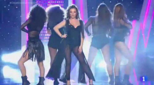 """María Isabel interpreta """"La vida solo es una"""" en 'Objetivo Eurovisión'"""